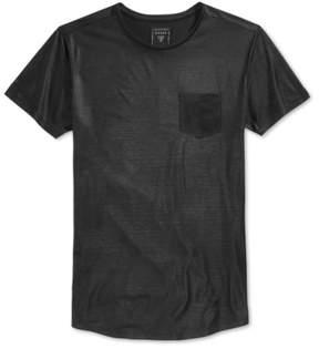 GUESS Mens Arcadia Longline Basic T-Shirt Black 2XL