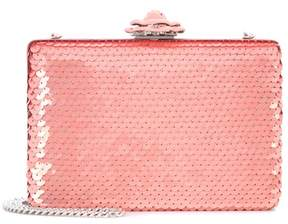 Oscar de la Renta Rogan sequinned box clutch