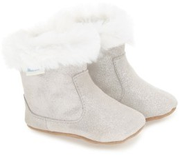 Robeez Infant Girl's 'Thea Twinkle' Bootie