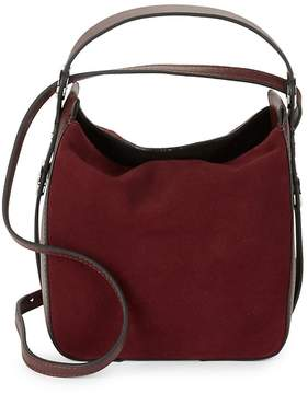 KENDALL + KYLIE Women's Molly Suede Mini Bucket Bag