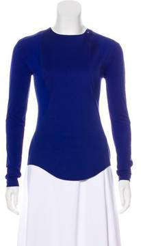Esteban Cortazar Long Sleeve Knit Top