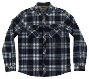 O'Neill Boy's Glacier Heat Dome Terry Plaid Shirt