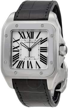 Cartier Santos 100 Steel Automatic Large Men's Watch W20073x8