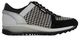Karl Lagerfeld Women's Multicolor Fabric Sneakers.