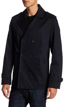 Mackage Water Repellent Double Breasted Blazer