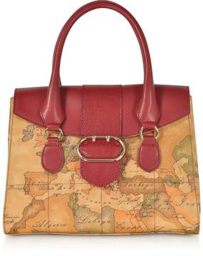Alviero Martini Wonder Geo Small Satchel Bag