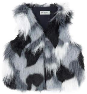 Jean Bourget Faux fur vest