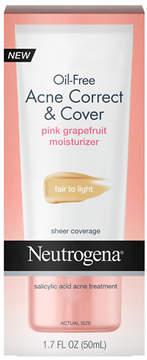 Neutrogena Oil-Free Acne Correct & Cover Fair to Light