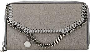 Stella McCartney Women's Falabella Shaggy Deer Zip-Around Wallet
