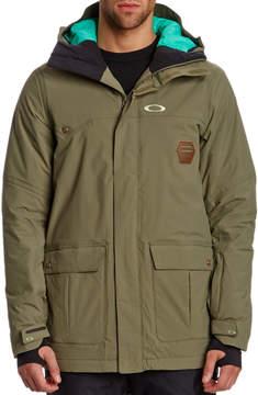 Oakley Westend Hooded Worn Olive Jacket