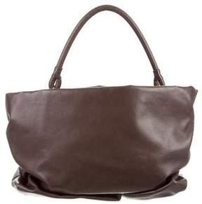 Maison Margiela Distressed Leather Handle Bag
