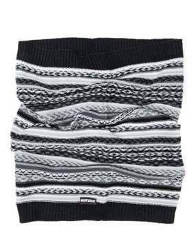 Muk Luks Men's Reverse Fairisle Textured Funnel