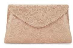 Adrianna Papell Seta Alicante Lace and Beaded Envelope Bag