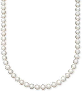 Belle de Mer Pearl Aa+ 16 Cultured Freshwater Pearl Strand (8-1/2-9-1/2mm) Necklace in 14k Gold