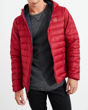 Hollister Lightweight Down Puffer Jacket