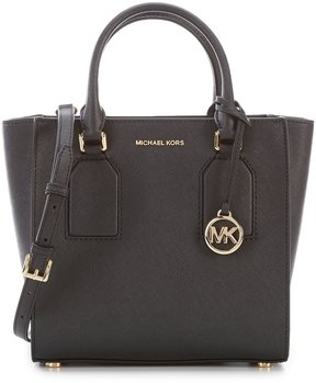 MICHAEL Michael Kors Selby Medium Satchel - BLACK - STYLE