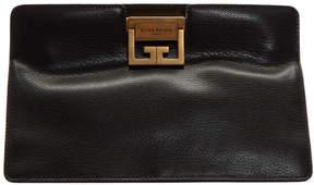 Givenchy Black GV3 Frame Clutch