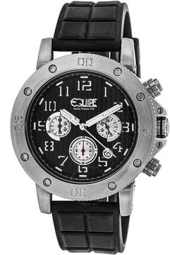 Equipe Tritium Arciform Chronograph Black Dial Men's Watch