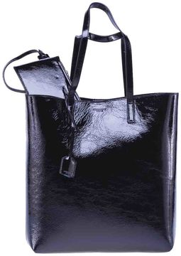 Saint Laurent Paris Shopper Bag - BLACK - STYLE