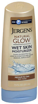 Jergens Natural Glow Wet Skin Lotion Medium to Tan Skin Tones