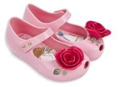 Mini Melissa Baby's, Toddler's & Kid's Ultra Girl Beauty & the Beast Mary Jane Flats