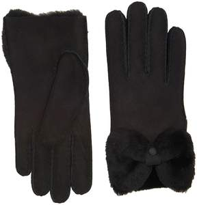 UGG Bow Waterproof Sheepskin Gloves Extreme Cold Weather Gloves