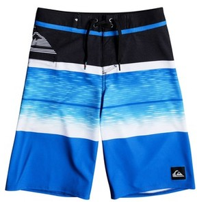 Quiksilver Boy's Slab Logo Vee Board Shorts
