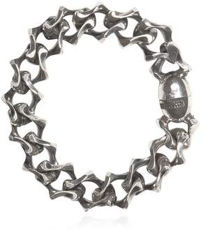 Emanuele Bicocchi Silver Chain Bracelet