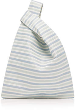 Hayward Striped Silk Mini Shopper