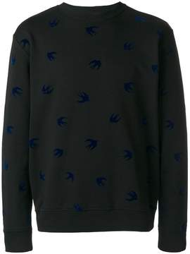 McQ Swallow patch jumper
