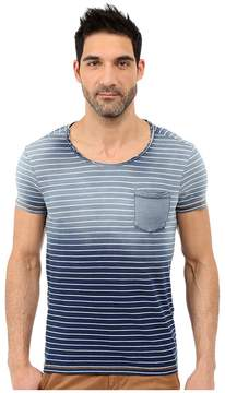Mavi Jeans Indigo Striped Tee Men's T Shirt