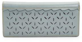Frye Ilana Perforated Slim Leather Wallet