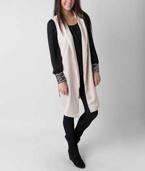 Double Zero Solid Tunic Vest