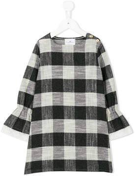 Le Petit Coco checked boxy dress