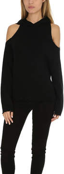 RtA Juno Cashmere Cut Out Hoody