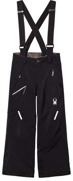 Spyder Black Propulsion Ski Trousers