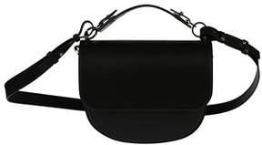 Sophie Hulme Women's Bg262leblack Black Leather Shoulder Bag.