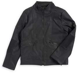 Urban Republic Boy's Moto Panel Jacket