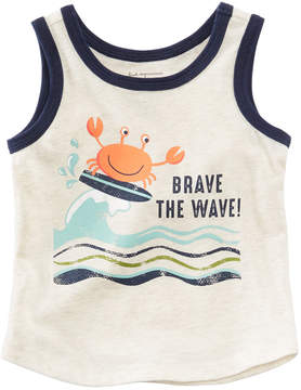 First Impressions Wave-Print Tank Top, Baby Boys, Created for Macy's