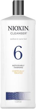 Nioxin System 6 Cleanser Shampoo - 33.8 oz.