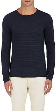 John Varvatos Men's Striped Jersey Shirt
