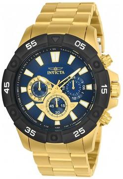 Invicta Pro Diver Chronograph Blue Dial Men's Watch