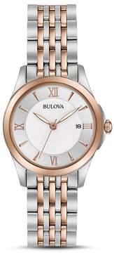 Bulova Modern Two-Tone Watch, 27mm