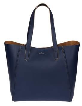 Hogan Women's Blue Leather Tote.