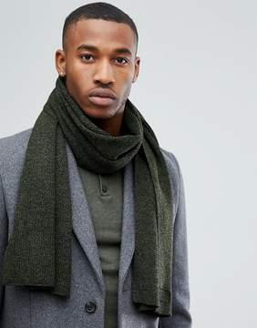 Jack and Jones DNA Scarf in Green