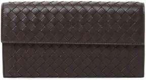 Bottega Veneta Women's Woven Leather Flap Top Wallet