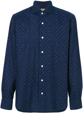 Barba patterned classic shirt