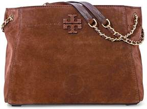 Tory Burch McGraw Suede Chain-Shoulder Slouchy Tote - Buffalo - ONE COLOR - STYLE