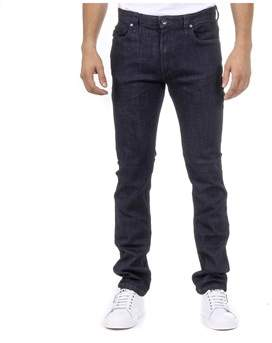 Armani Jeans Men's Blue Cotton Jeans.