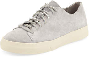 Vince Men's Copeland Raw-Edge Suede Low-Top Sneaker